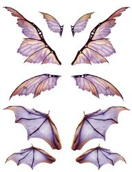 Gothic Wings, Bat Wings